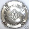 Champagne capsule 18 Estampée métal