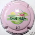 Champagne capsule 1.a 2/3 Festi Vallée, rose
