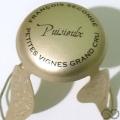 Champagne capsule 37 Parure or mat