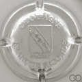Champagne capsule 18 Métal, estampée