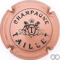Champagne capsule 12 Rosé et noir