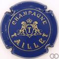 Champagne capsule 6 Bleu, lions détaillés