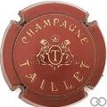 Champagne capsule 11 Bordeaux et or