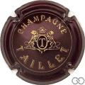 Champagne capsule 4 Bordeaux foncé