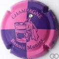 Champagne capsule 6.a Rose et bleu avec strass
