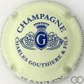 Champagne capsule 5.e Crème et bleu