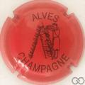 Champagne capsule 32.z Rouge et noir