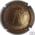 Champagne capsule 32.c Marron et or