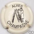 Champagne capsule 32.q Crème pâle et noir