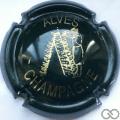 Champagne capsule 17 Vert foncé et or