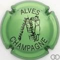Champagne capsule 32.a Vert pâle, métal et noir