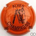 Champagne capsule 21 Orange et noir