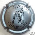 Champagne capsule 32.b Gris-bleuté et noir