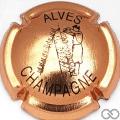 Champagne capsule 18 Cuivre et noir