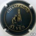 Champagne capsule 7.a Vert-noir et or