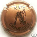 Champagne capsule 32.s Marron et noir