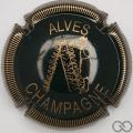 Champagne capsule 32.d Vert foncé et or, striée