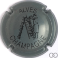 Champagne capsule 20 Gris et noir