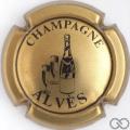 Champagne capsule 11.a Or et noir
