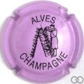 Champagne capsule 32.x Mauve et noir