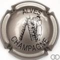 Champagne capsule 28 Métal et noir