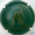 Champagne capsule 32 Vert clair et or