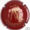 Champagne capsule 16 Bordeaux et or