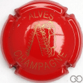 Champagne capsule 32.g Rouge et or