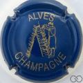 Champagne capsule 14 Bleu et or