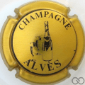 Champagne capsule 11 Or-jaune et noir