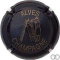 Champagne capsule 15 Noir et or