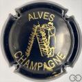 Champagne capsule 31 Bleu-nuit et or