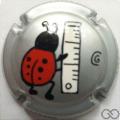 Champagne capsule 3.a PALM Coccinelle avec centimètre