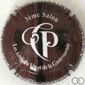 Champagne capsule 9.b 3ème salon des amis du vin