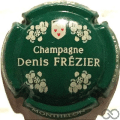 Champagne capsule 7.f Vert foncé et crème