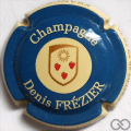 Champagne capsule 6.d Bleu et crème