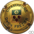Champagne capsule 1.a Or mat, vert et rouge