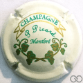 Champagne capsule 2.g Fond crème