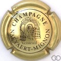 Champagne capsule 6 Or et marron