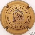 Champagne capsule 3 Bronze et bordeaux