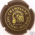 Champagne capsule 4 Marron et or-jaune