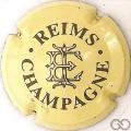 Champagne capsule 3 Crème et gris