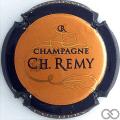 Champagne capsule 12.c Orange, contour noir