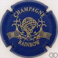 Champagne capsule 5 Cuvée Rainbow, bleu