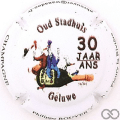Champagne capsule A1.phirou 30 ans Stadhuis, verso gris, nr.54