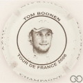 Champagne capsule A1.vaumar Tour de France 2006, blanc et noir