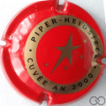 Champagne capsule A1.piperh Rouge et or, sur nr. 118