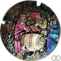 Champagne capsule A1.generi N° 370.pa - Verso 731.c