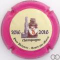 Champagne capsule A1.delyve Delportes Yves. 2016 contour fuchsia