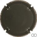Champagne capsule A1.lejdel Noir mat, nom sur contour